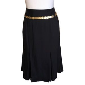 Doncaster Inverted Pleat Skirt with Coin Belt 8